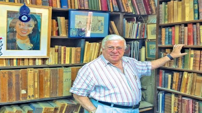 بيع مكتبة حسن كامى بعد ساعات قليلة من وفاته