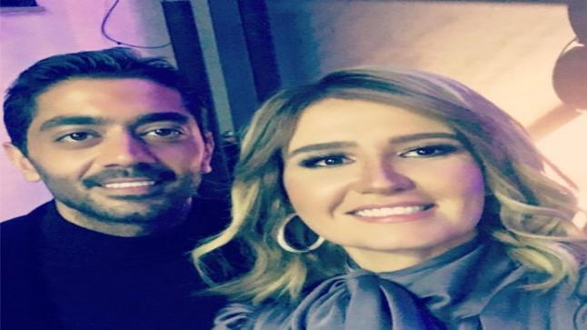 هنا شيحة تحتفل لأول مرة بعيد ميلادها بعد زواجها من أحمد فلوكس