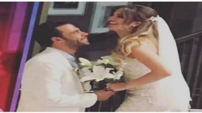 محمد امام ينشر أول صورة لزوجته وهكذا تغزل بها