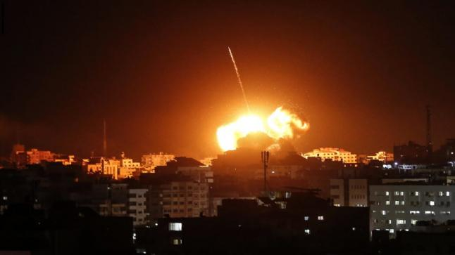 الدفاعات الجوية السورية تعترض غارات إسرائيلية