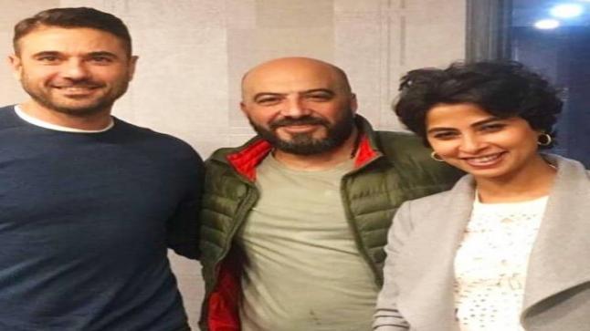 روبي تجتمع لأول مرة مع أحمد عز على المسرح بفضل مجدي الهواري