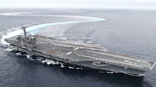بسبب إيران.. البانتجون يُرسل حاملة طائرة وقطع حربية إلى الخليج