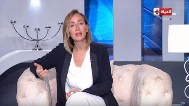 ريهام سعيد بملامح متغيرة في أول ظهور لها بعد إزالة أنفها