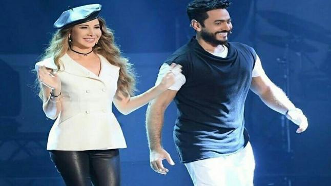 تامر حسني ونانسي عجرم يحضران معا لمفاجأة جديدة في شهر رمضان