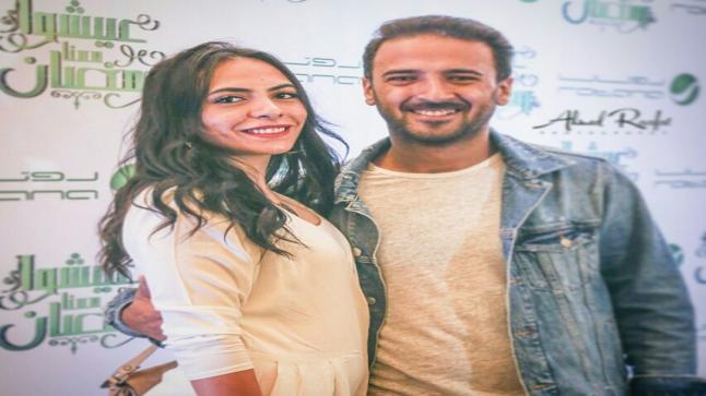صورة محمد مهران في شهر العسل مع زوجته عرضته لانتقادات حادة