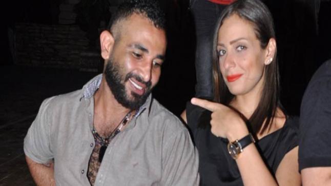 شاهد رد فعل ريم البارودي على تصريحات أحمد سعد بشأن زواجهما