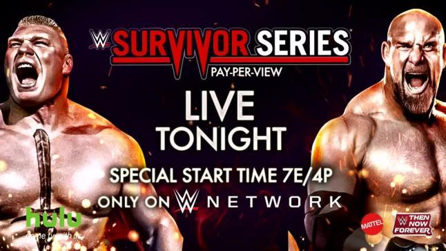 نتائج سرفايفر سيريس 2016 مصارعة مهرجان عرض WWE Survivor Series 2016 Results