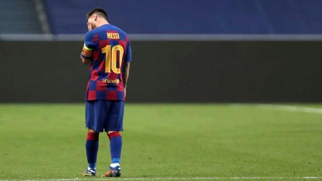 صدمة في البيت الكتالوني… ميسي يطلب الرحيل عن برشلونة