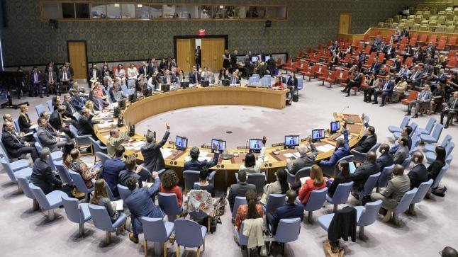 """قرار أممى يدعو """"إسرائيل"""" إلى التخلي عن امتلاك أسلحة نووية"""
