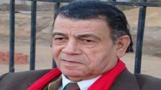 وفاة الفنان مصطفى الشامي بعد صراع مع المرض، وهذه صورته قبل وفاته بأيام