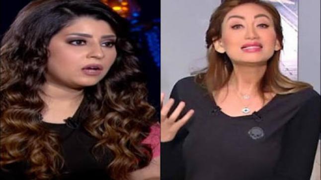 ريهام سعيد غاضبة من آيتن عامر وهكذا كان رد فعلها