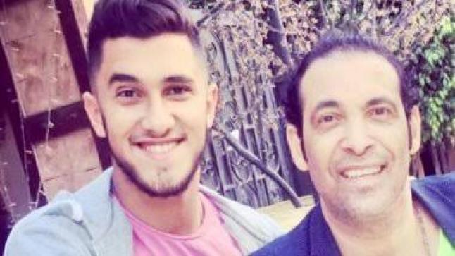 شاهد بالصور احتفال سعد الصغير بخطوبة ابنه الأكبر