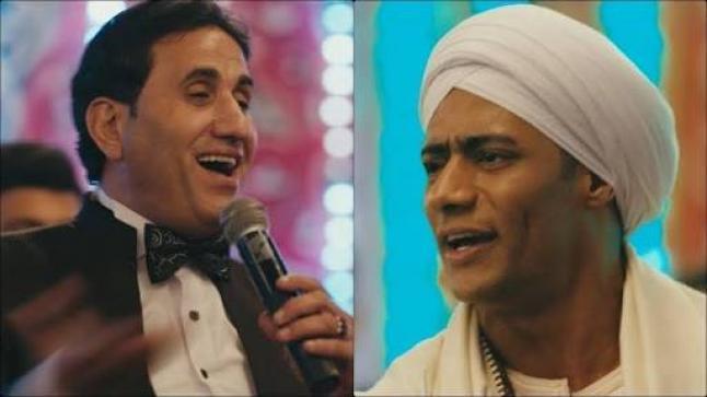 """مرة أخرى أحمد شيبه يغني تتر مسلسل """"زلزال"""" لمحمد رمضان بعد مسلسل"""" نسر الصعيد"""""""