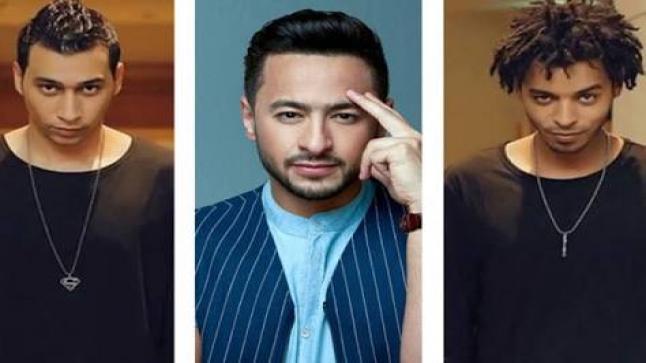 """حمادة هلال وأوكا وأورتيجا يمتلكون الكثير بعد تعاونهما في أغنية """"اشرب شاي"""""""