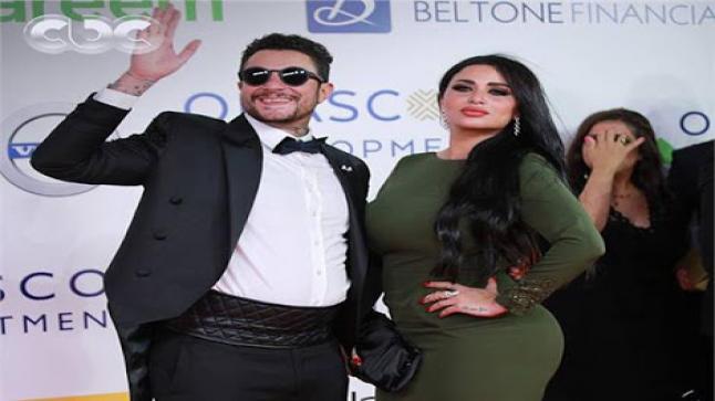 إطلالة جديدة لأحمد الفيشاوي مع زوجته ندى الكامل