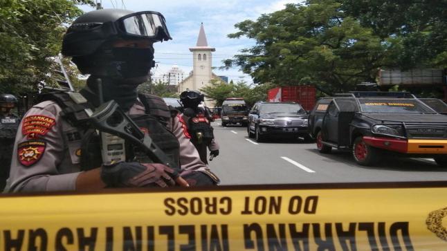 إندونيسيا تشهد تفجيرًا بالقرب من كنيسة كاثوليكية
